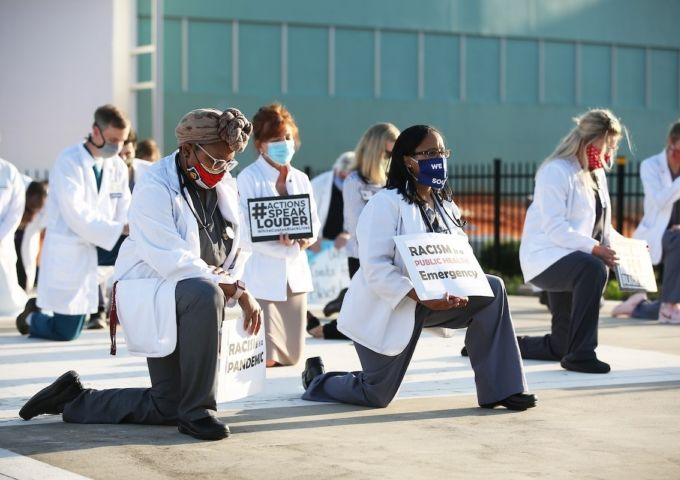 White Coats for Black Lives 200611 192613