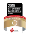 2019 American Heart Association Gold Plus Stroke
