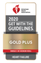 2020 American Heart Association Gold Plus Heart Failure