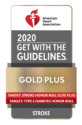 2020 American Heart Association Gold Plus Stroke